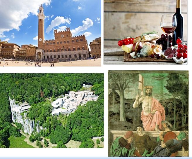 Toscana nascosta, tra arte sublime, natura incomparabile e spiritualità 5 giorni: 31 ottobre – 4 novembre 2019